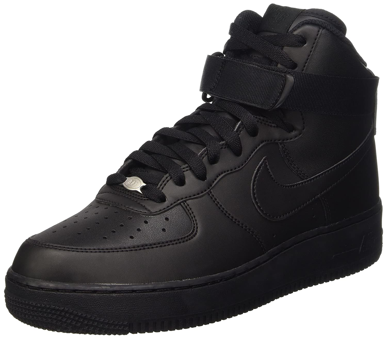 NIKE Men's Air Force 1 High '07 Basketball Shoe B011PYC41C 13 D(M) US|Black / Black-black