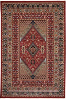 "product image for Capel Kindred-Heriz Sienna Green 3' 11"" x 4' 11"" Rectangle Machine Woven Rug"