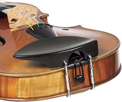 Ebony  Violin Chinrest 4//4 Old  Flesch Style