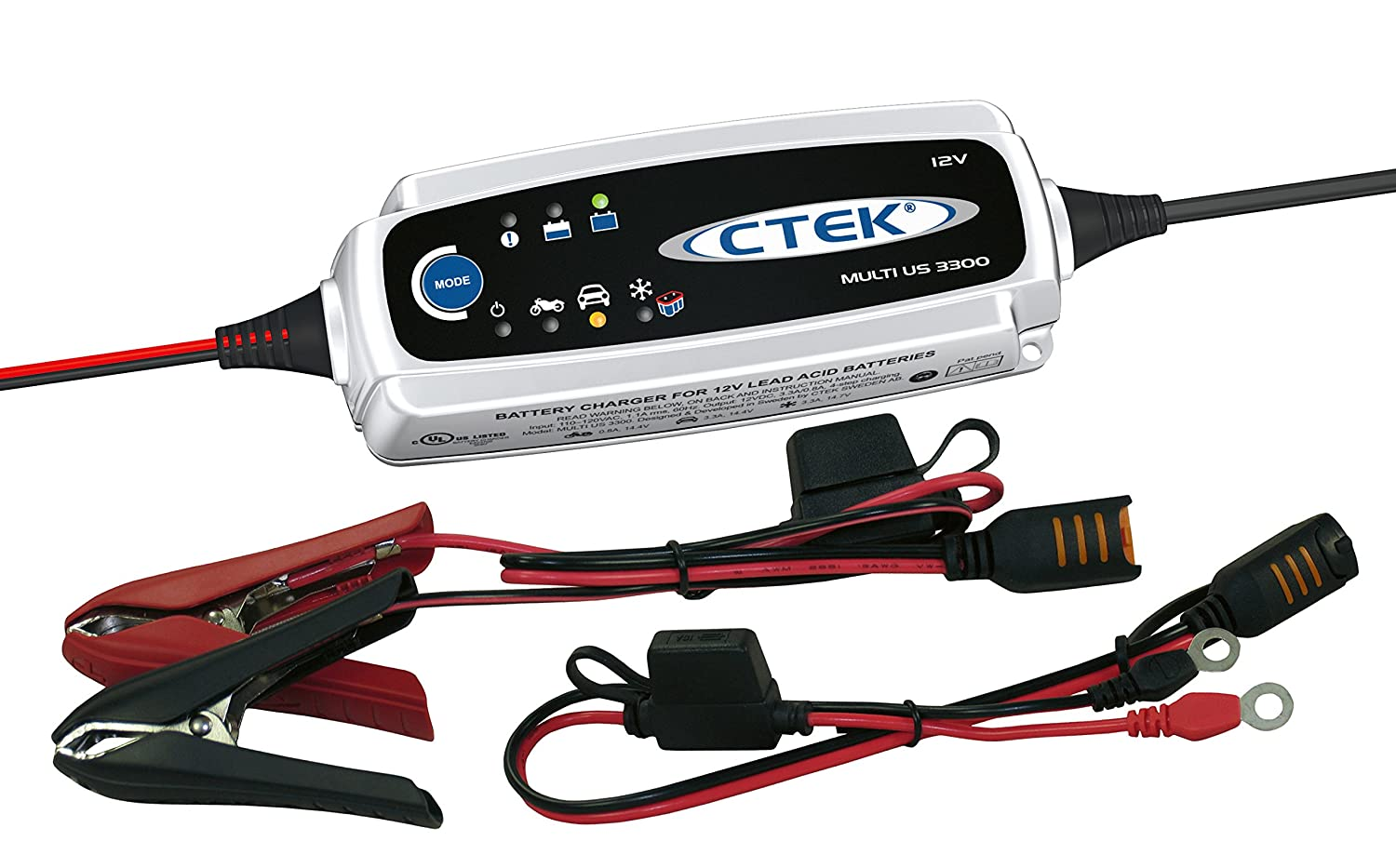 Ctek 56 158 Multi Us 3300 12 Volt Fully Automatic 4 Battery Protection Circuit As Well Charger Step Automotive