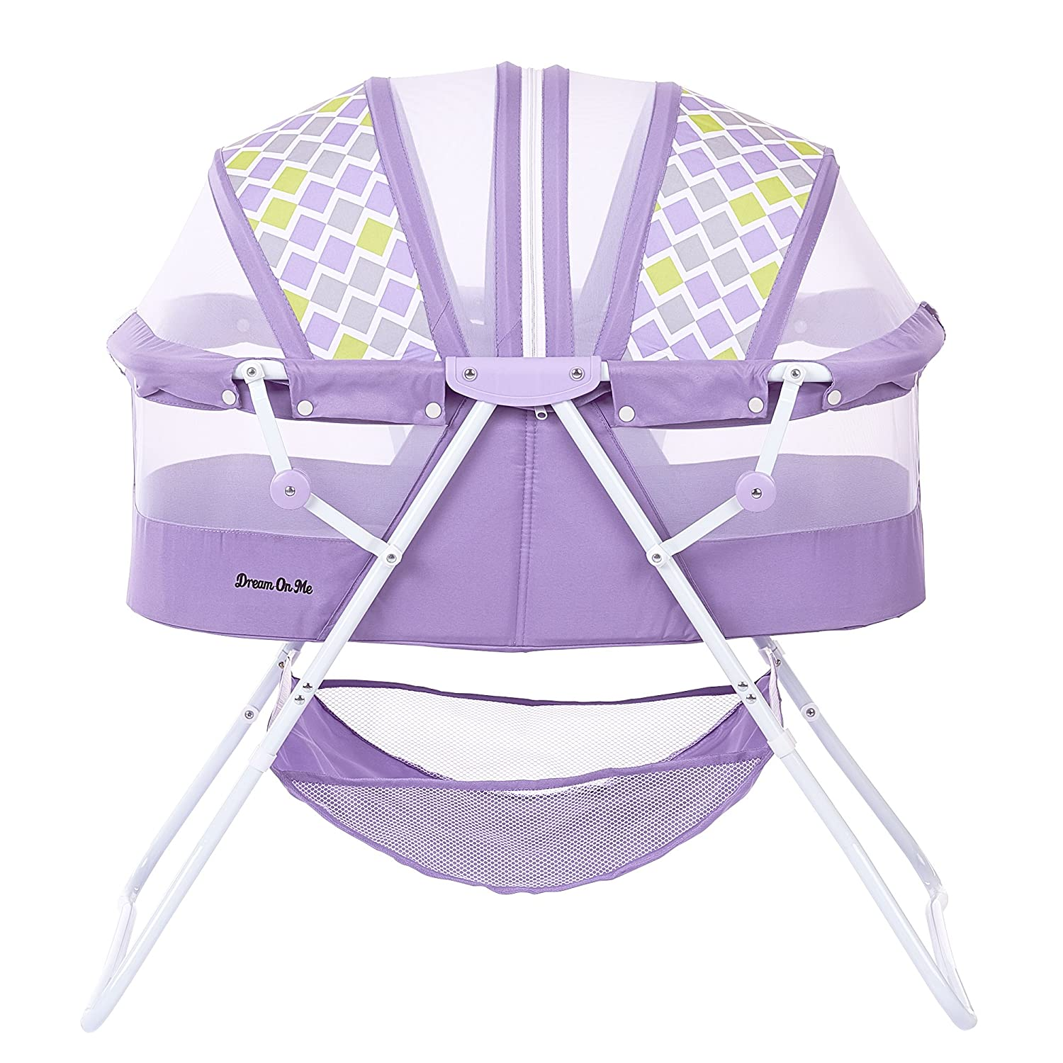 Latest Collection Of Dream On Me Karley Bassinet Blue/grey 2day Delivery Nursery Furniture Baby
