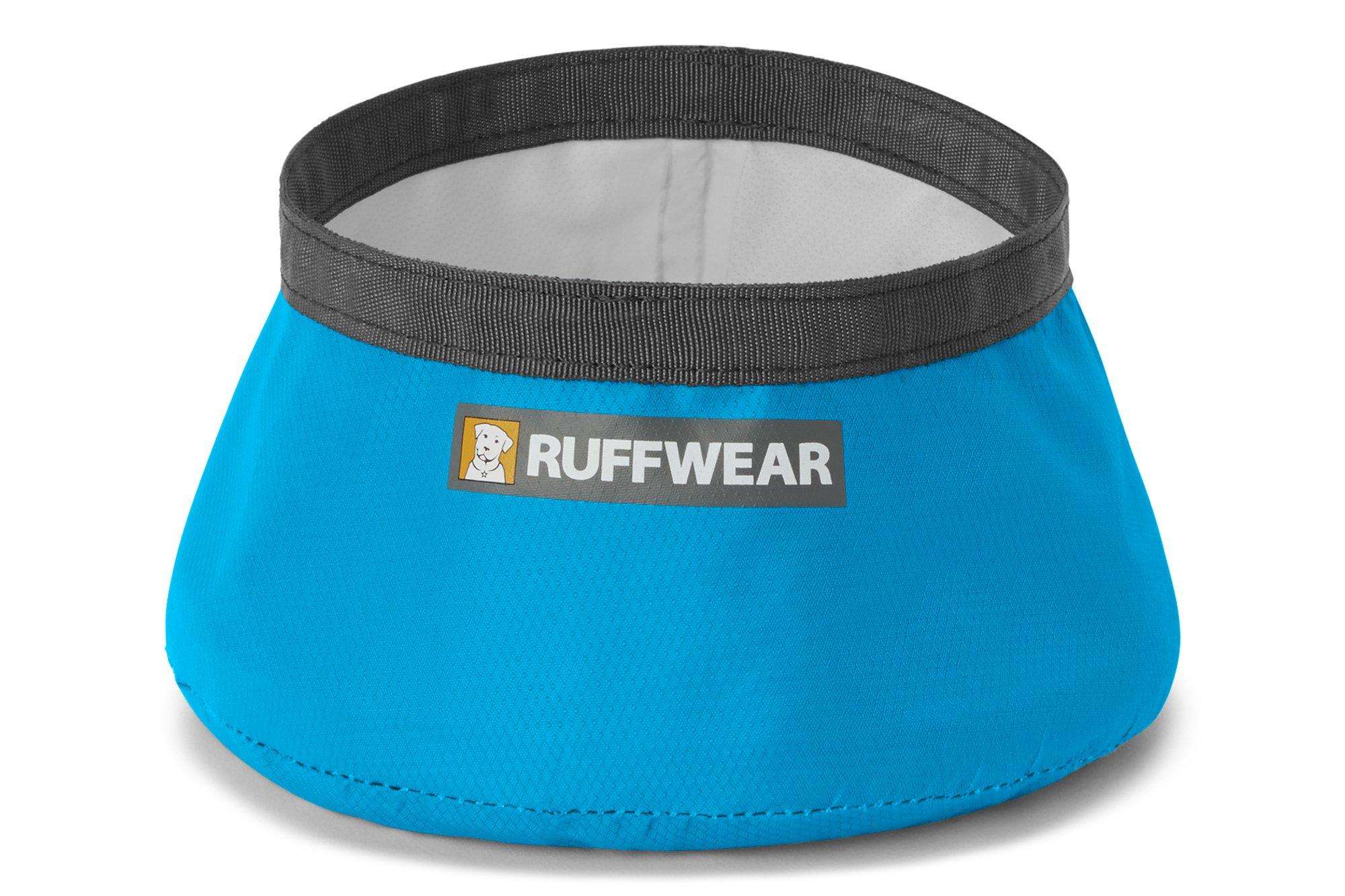 RUFFWEAR - Trail Runner Ultralight Collapsible Dog Bowl, Blue Dusk