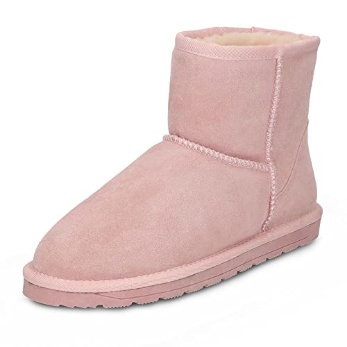 new products 1a010 9a144 ESPRIT Damen Stiefeletten 107EK1W017/665 rosa 370485