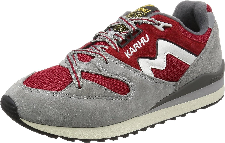 Karhu - Zapatillas de Ante para Hombre Rojo Rojo 40.5 Rojo Size: 45: Amazon.es: Zapatos y complementos