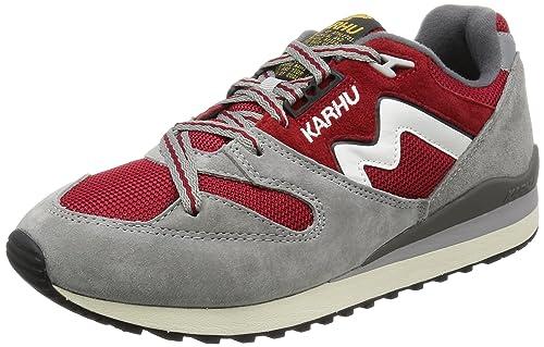 Karhu - Zapatillas de ante para hombre Rojo rojo 40.5: Amazon.es: Zapatos y complementos