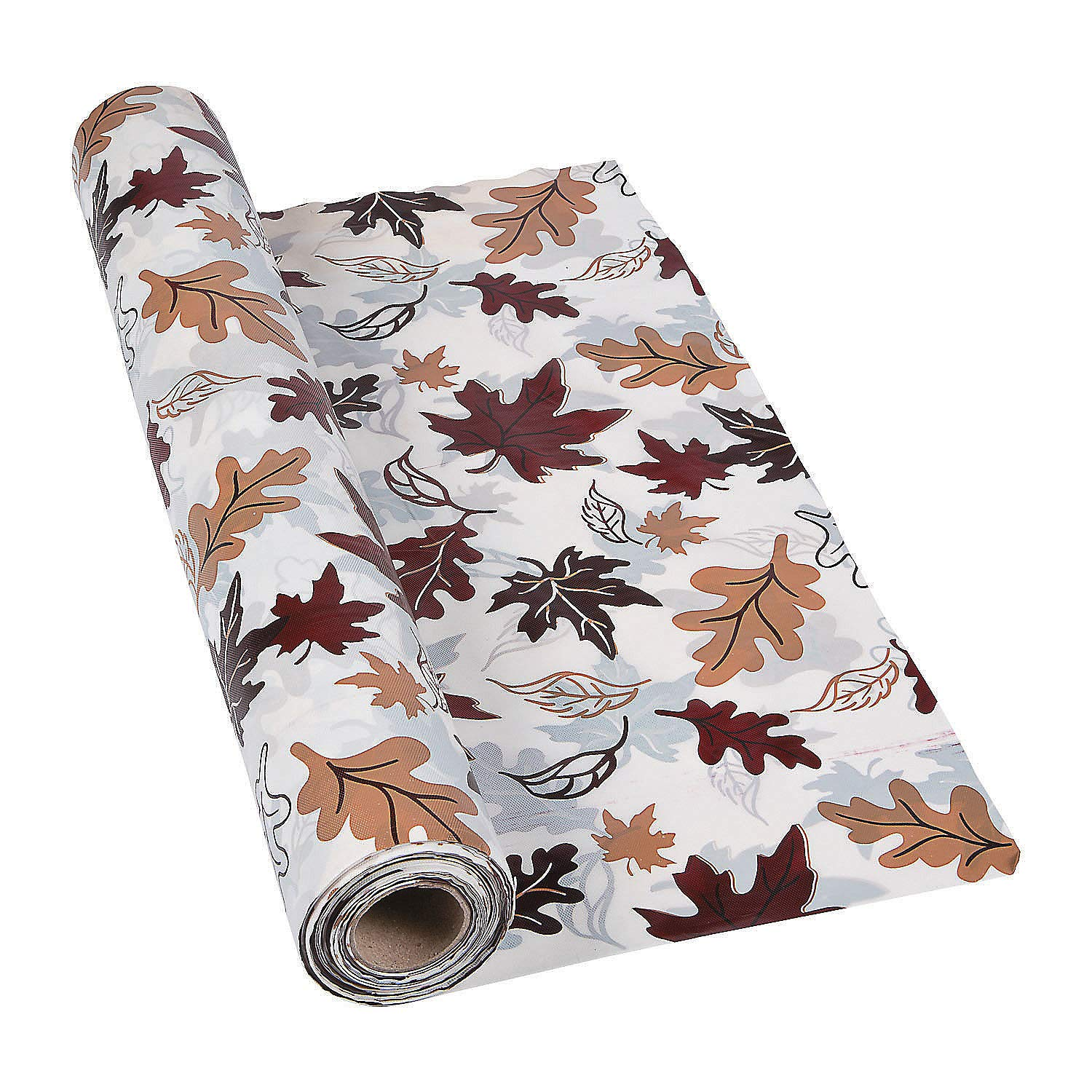 Fall Leaves Tablecloth Roll (100 feet long) Party Supplies by Fun Express