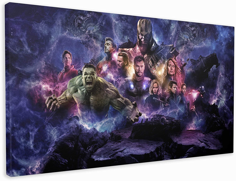 20x12 Inch M2M Prints Avengers endgame Canvas print