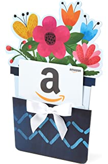 Amazon amazon 50 gift card in a easter egg reveal amazon gift card for any amount in a flower pot reveal classic white negle Choice Image