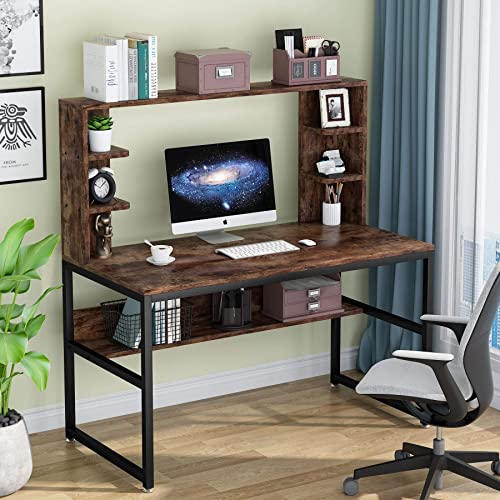 Tribesigns 47 Inches Computer Desk