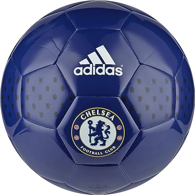 adidas Chelsea FC Balón de fútbol, Hombre, Azul (Cheblu/Blanco ...