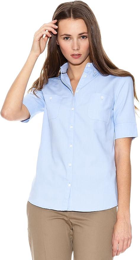 MANGO Camisa Carnaby Celeste L: Amazon.es: Ropa y accesorios