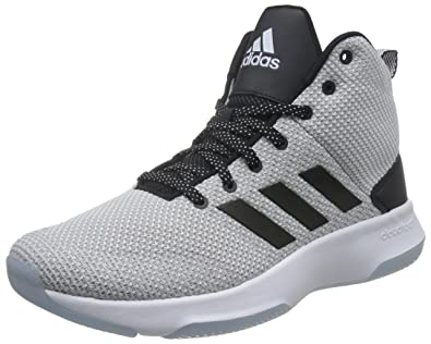Adidas Men's CF Executor Mid Black Basketball Shoes (UK-8)