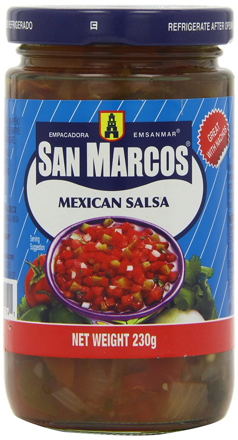 San Marcos Mexican Salsa 230 g (Pack of 6): Amazon.co.uk: Grocery