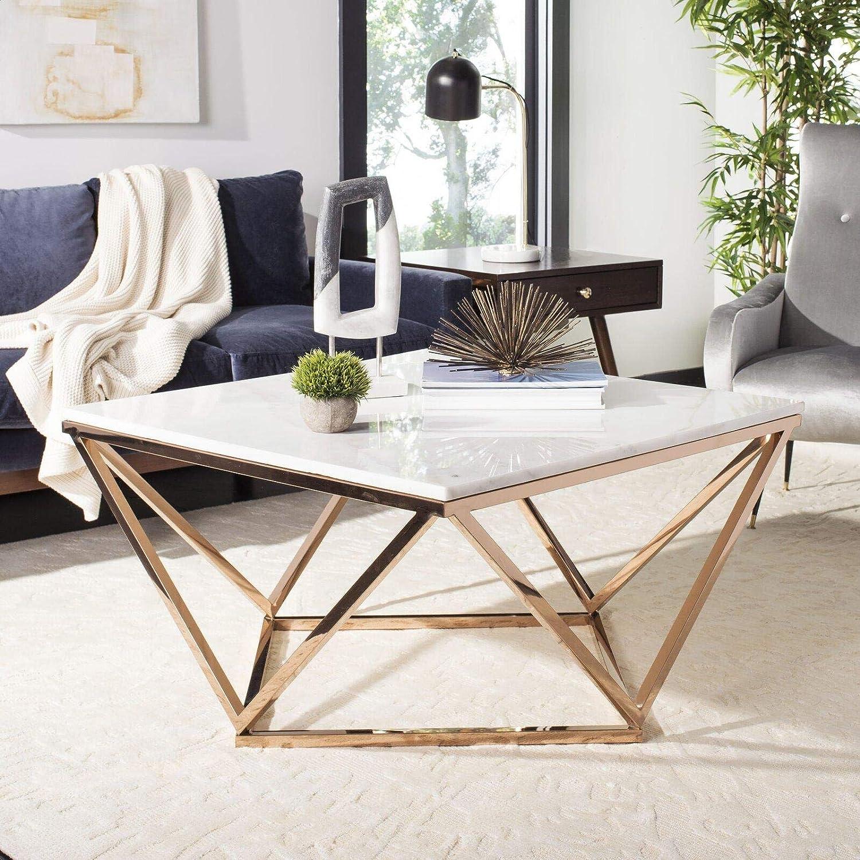 Amazon Com Aphrodite Frame Coffee Table Kitchen Dining