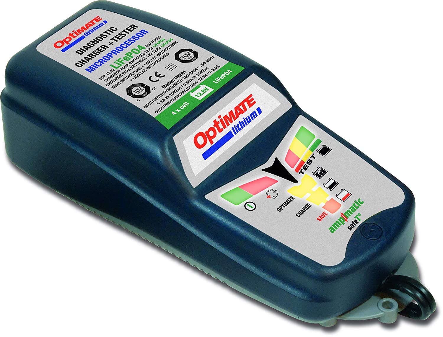 290 OptiMate Lithium Battery Charger TecMate TM