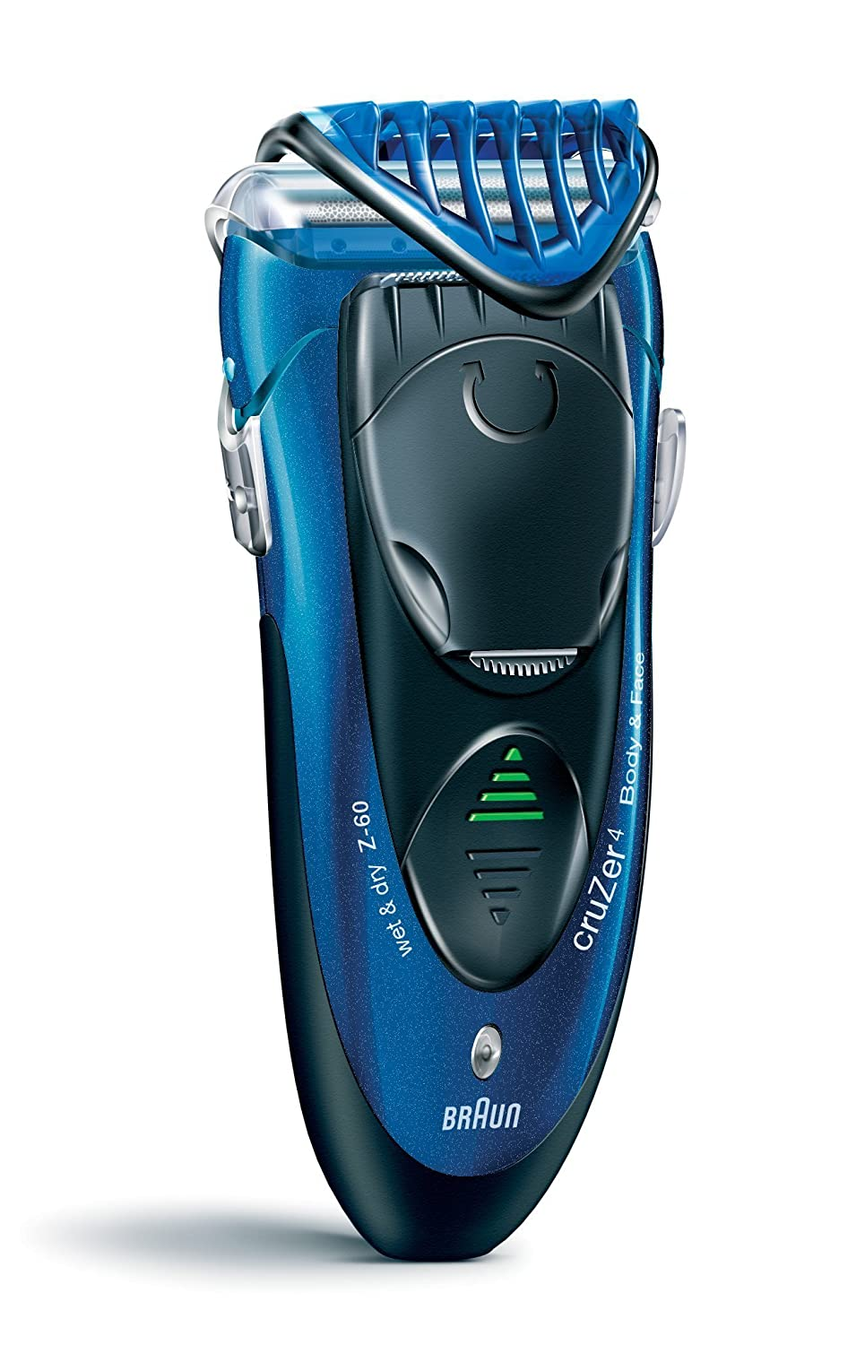 Braun cruZer 4 Shaver and Body Trimmer Procter & Gamble 65730733 razor hair removal