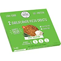 Cali'flour Foods Gluten Free, Low Carb Cauliflower Spicy Jalapeno Pizza Crusts - 1 Box - (2 Total Crusts Per Box