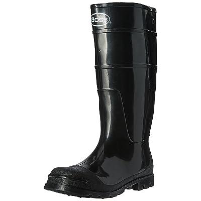 Boss 2KP200109 Men's Black Rubber Boots, Size 9: Garden & Outdoor