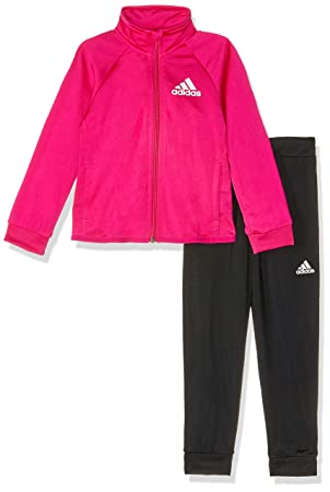 Youth Clothing adidas Kids Girls YG Tracksuit Junior Top