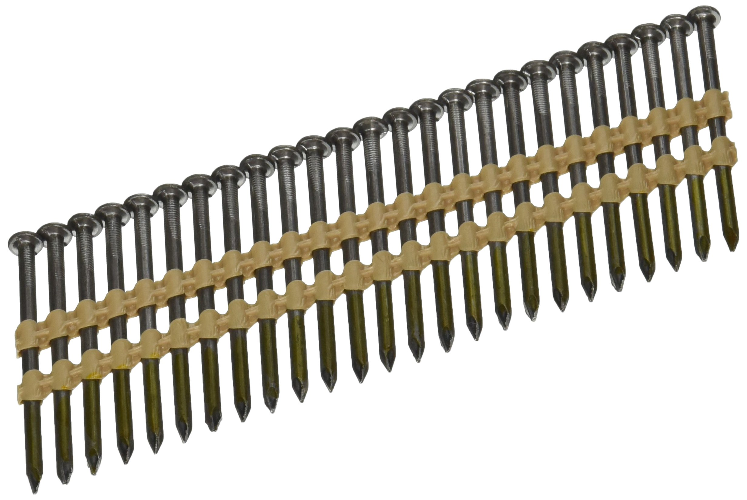 Hitachi 20132S Hitachi 20132S 2 1/2-in X .131 Bright Smooth Shank Plastic Collated Nails,