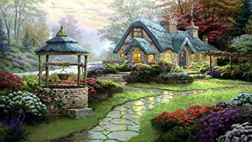 Asmi Collections Beautiful Nature Canvas Painting