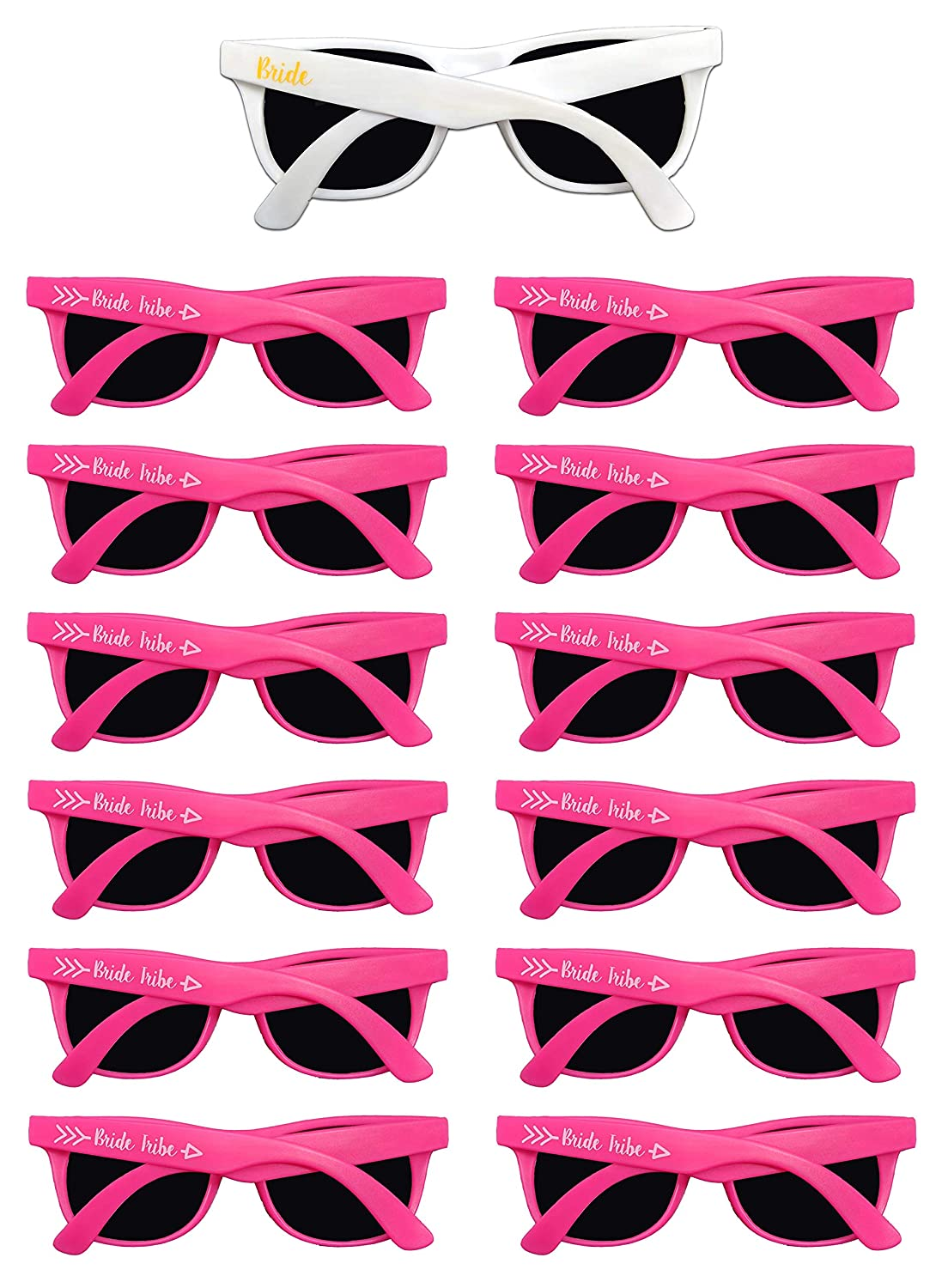 Amazon.com: Gafas de sol Bachelorette Party - 12 unidades de ...