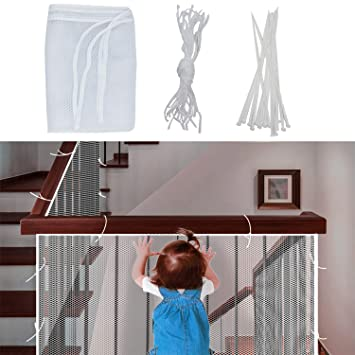 Kids stairs safety net protection Rail Balcony baby fence stair net DecorationFB