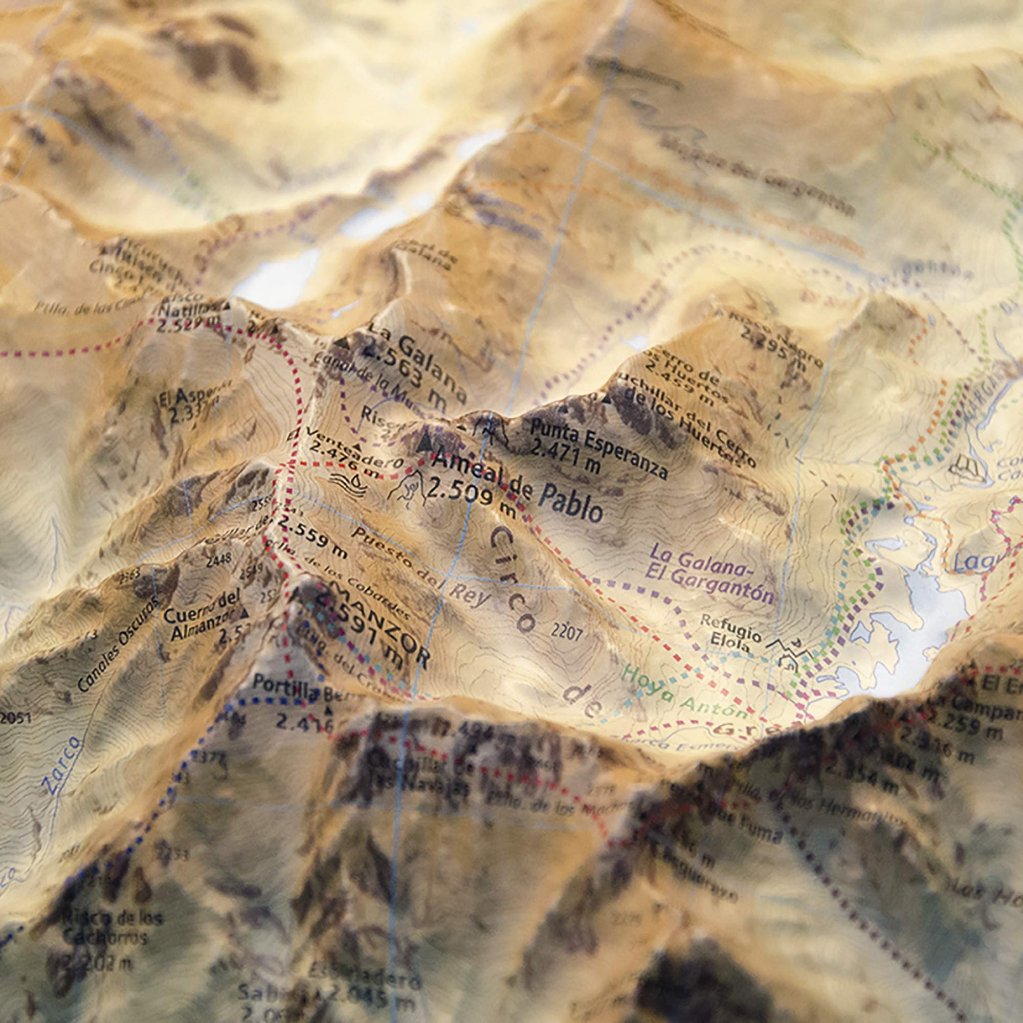 Mapa en relieve Circo de Gredos: Escala 1:30.000: Amazon.es: All 3D Form S.L.: Libros