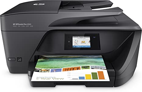 HP Officejet Pro 6960 - Impresora multifunción de inyección de ...