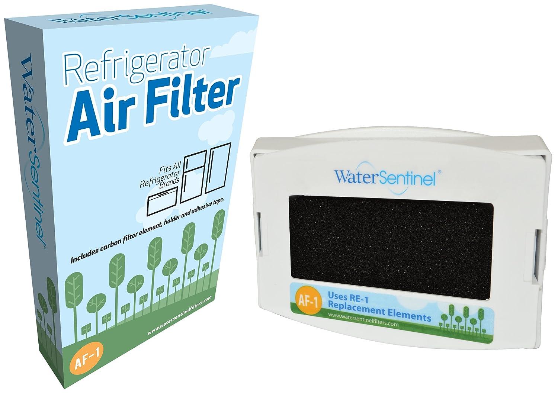 WaterSentinel AF-1 Refrigerator Air Filter: Fits all refrigerator brands