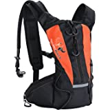 Sports Hydration Pack With Stronger Water Bladder 1.5L Bladder Pack,Multiple Storage Compartment Great for Cycling - Hiking - Running - Biking - Skiing