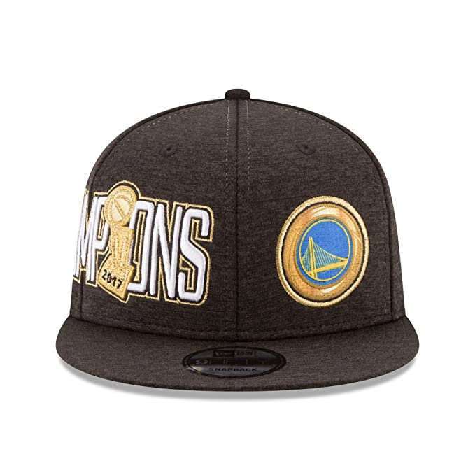 2ab2ae572b99f Amazon.com   New Era Golden State Warriors 9FIFTY 2017 NBA Finals Champions  Adjustable Snapback Hat Cap   Sports   Outdoors