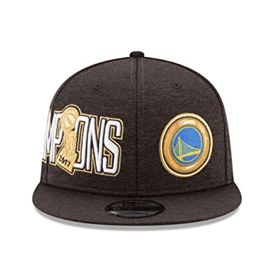 official photos a2468 23210 Amazon.com   New Era Golden State Warriors 9FIFTY 2017 NBA Finals Champions Adjustable  Snapback Hat Cap   Clothing