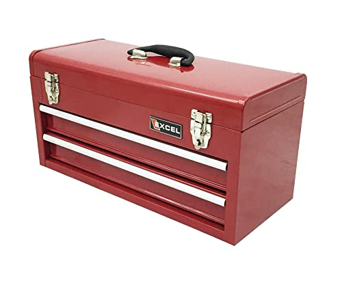 8)Excel Portable Steel Tool Box
