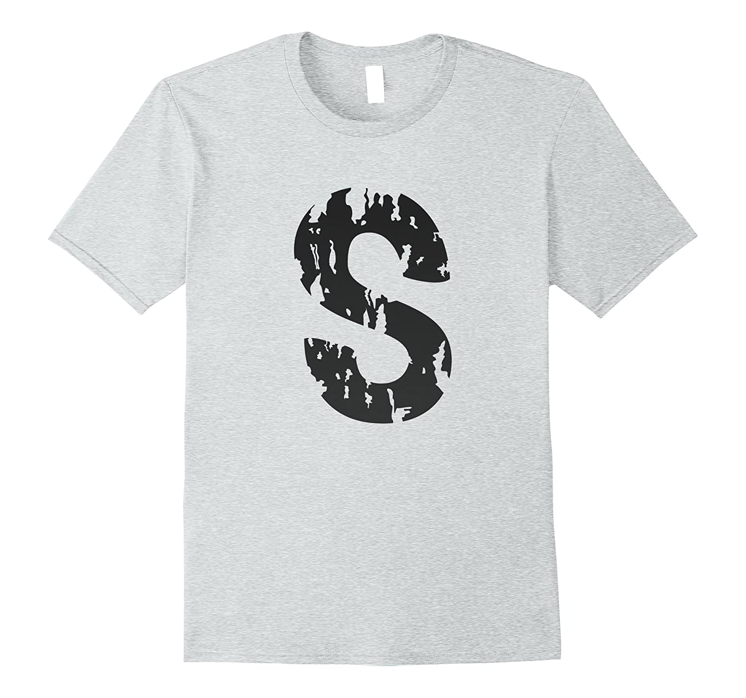 S Jughead's Distressed T-Shirt-FL