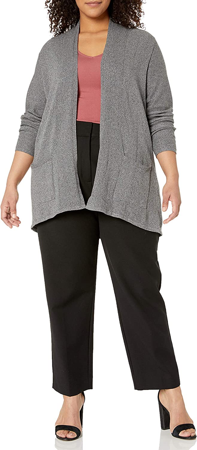 Foxcroft Women's Ls V-Neck El Paso Mall Two Cardigan Max 57% OFF with Pockets