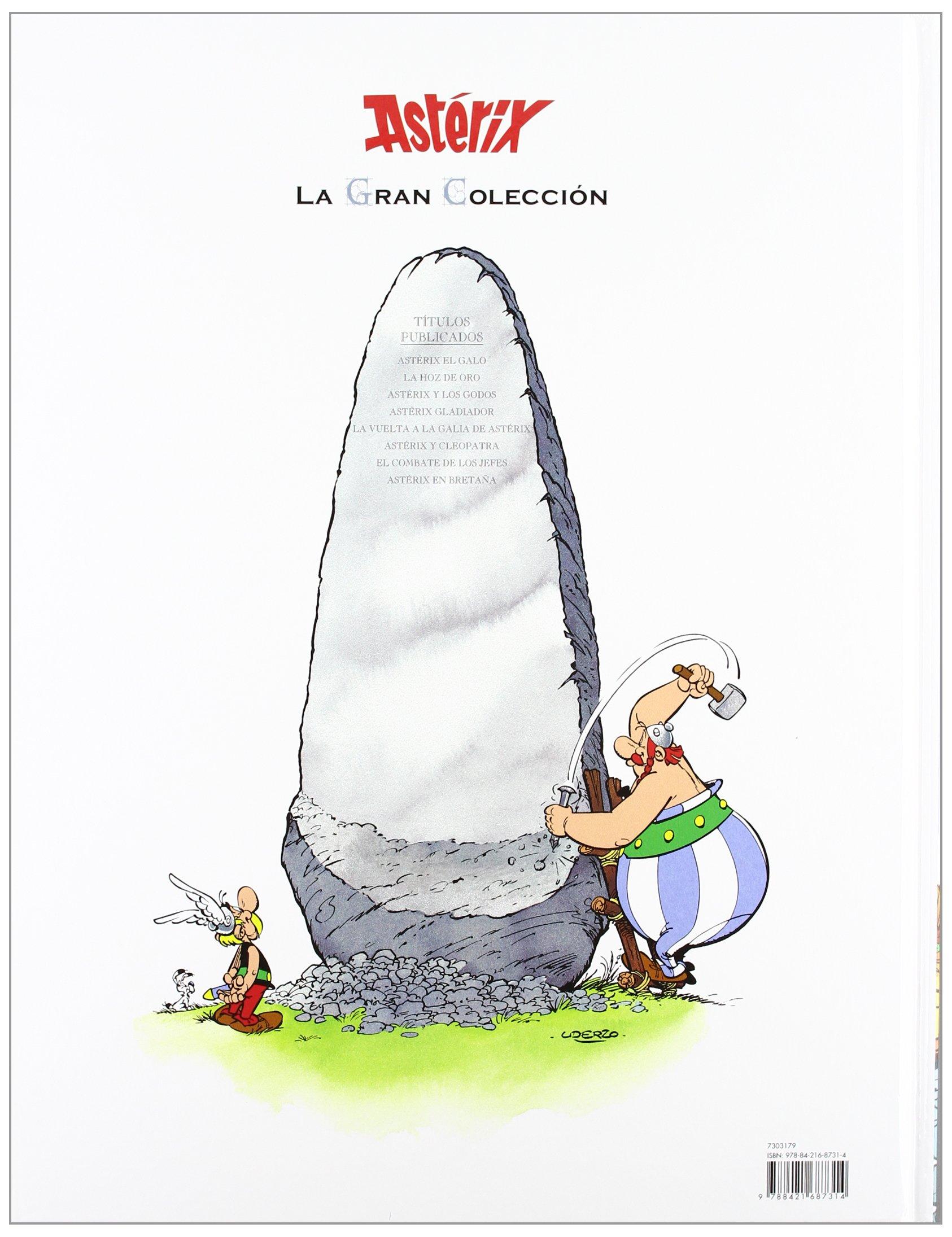 Astérix En Bretaña La Gran Colección Spanish Edition Goscinny René Uderzo Albert 9788421687314 Books