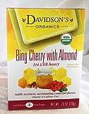 Tea Bag Box of 8, Bing Cherry with Almond Organic Tea