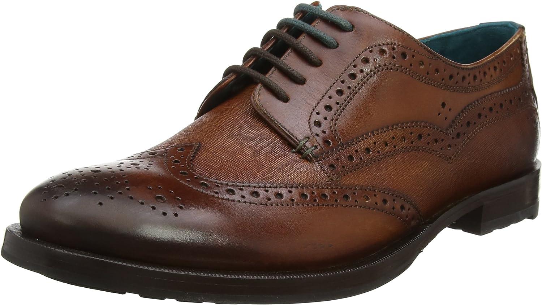 TALLA 41 EU. Ted Baker Senape, Zapatos de Cordones Derby para Hombre