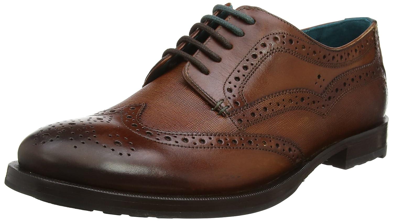 Ted Baker Senape, Zapatos de Cordones Derby para Hombre