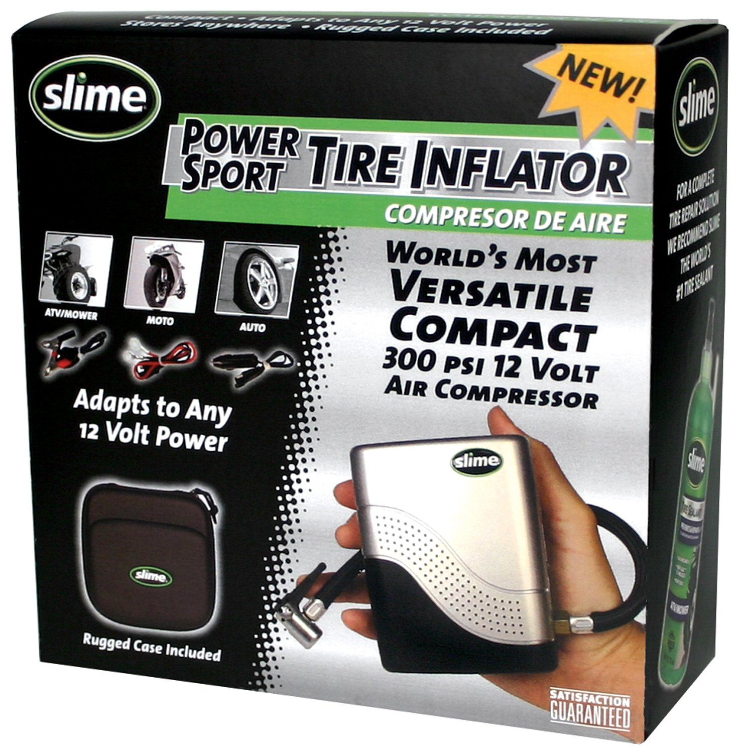 Slime 40001 Motorcycle Tire Inflator product image