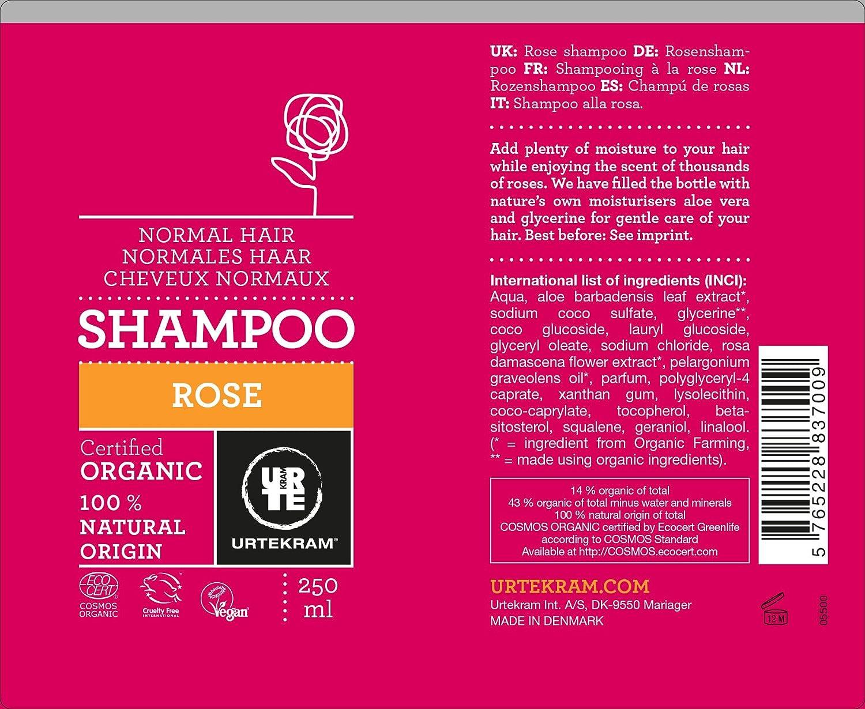 Amazon.com : URTEKRAM | Shampoo | Rosemary Shampoo 250ml (Japan Import) : Beauty