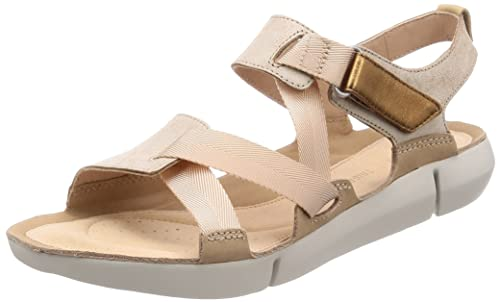 a7e844cad2f1 Clarks Women s Tri Clover Sand Combi Leather Fashion Sandals-3 UK India  (35.5