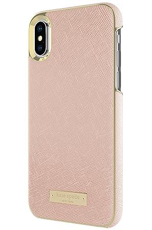 kate spade(ケイトスペード) iPhone X ラップケース サフィアーノ・ローズゴールド [並行