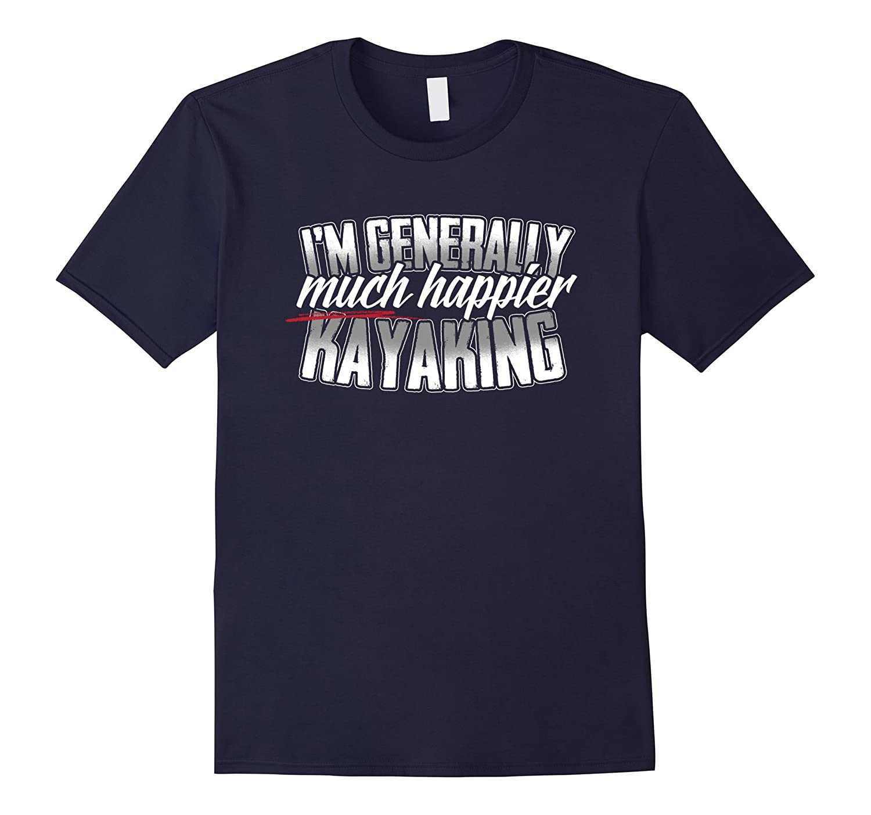 A whitewater river ocean or sea kayaking T Shirt-CD