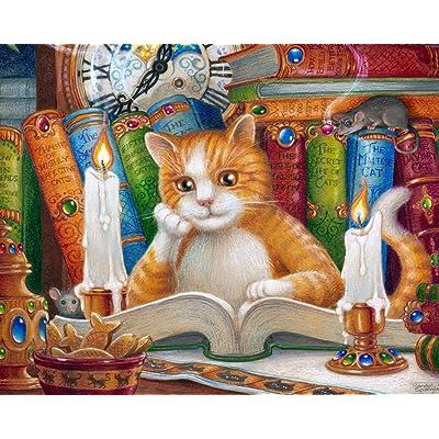 El Gato que Sabe Leer y Escribir Rompecabezas de 1000 Piezas (Jigsaw Puzzle): Juguetes y juegos