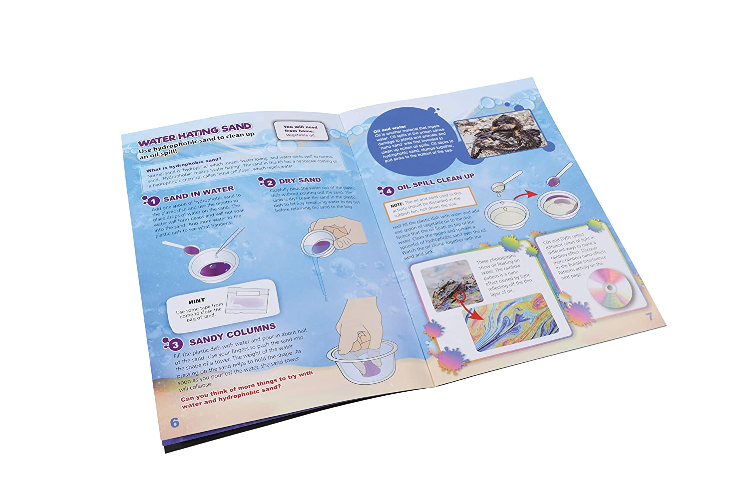 Easy to Follow Activities with Real World Applications WILD Science Nanoscience Lab Science Kits for Kids Amazing STEM Experiments with Tiny Particles
