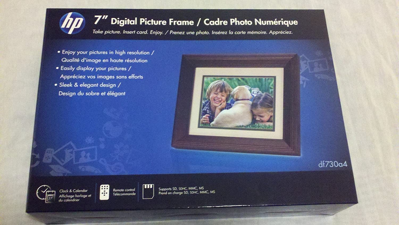 "HP 7"" Digital Photo Frame"