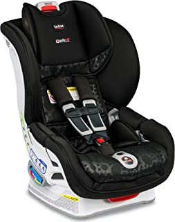 product image for Britax Marathon ClickTight Convertible Car Seat | 1 Layer Impact Protection - Rear & Forward Facing - 5 to 65 Pounds, Bubbles [Amazon Exclusive]