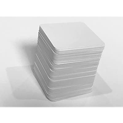 200+ Blank Square Playing Cards (Matte Finish & Square Size)